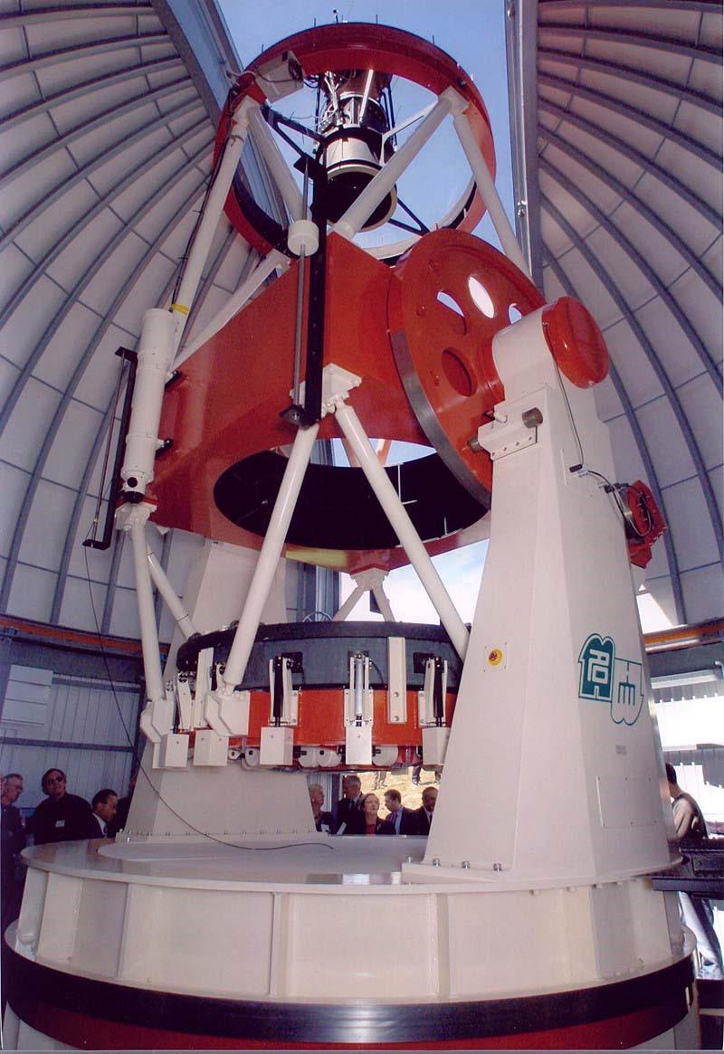 The MOA II 1.8-m wide-field optical telescope