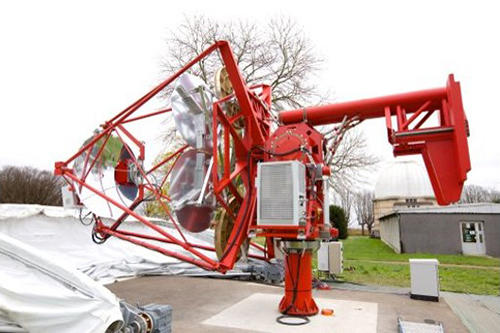 The GCT prototype installed at the Paris Observatory, Meudon, France.