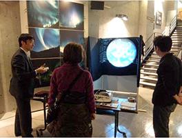 北海道陸別町で「出前授業」と「面白化学実験」を実施2
