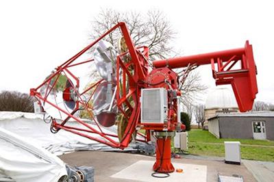 パリ天文台に設置された GCT 試作望遠鏡