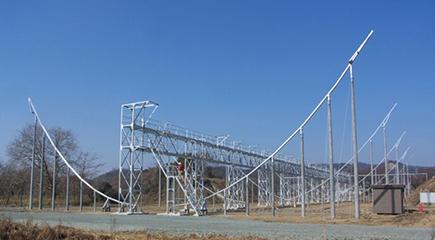 豊川分室の電波望遠鏡