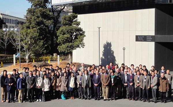 「太陽地球圏環境予測」国際シンポジウムPSTEP-1を開催